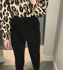 H&M fekete elegáns nadrág
