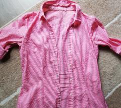 Vintage pink, csíkos ing