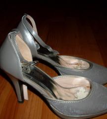 csinos ezüst cipő 37-es