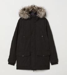 H&m férfi  parka téli kabát