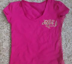 Poli pink póló arany felirattal