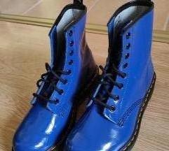 Dr. Martens 1460 kék lakkbőr bakancs