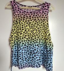 Leopárd mintás trikó (S)
