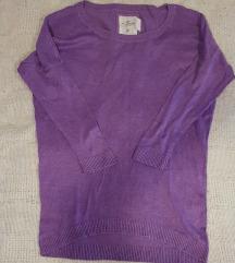 H&M világos lila pulcsi XS-es
