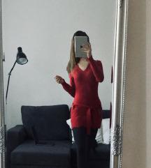 Gyapjú és kasmírkeverék pulóverruha