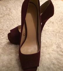 Püspöklila Zara cipő