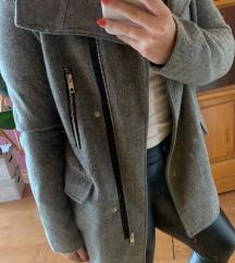 ELADÓ szürke Bershka szövet kabát