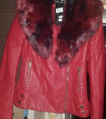 új piros / bordó kabát