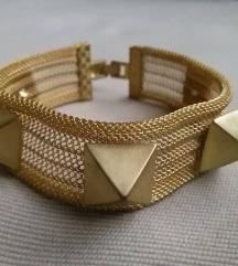 Arany tüskés karkötő