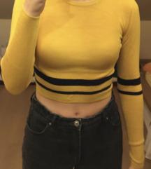 Sárga-kék csíkos hosszú ujjú