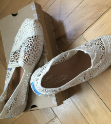 Toms Natural Moroccan Crochet
