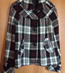 Zara trf kockás kabát