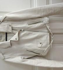 Eladó használt fehér L-es Bershka kabát