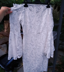 Harangujjú fehér csipkeruha