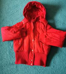 M-es téli dzseki lecipzározható kapucnival