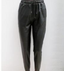 Új, címkés laza műbőr nadrág