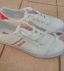 Big Star fehér vászon cipő