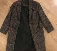Párduc mintás kabát S