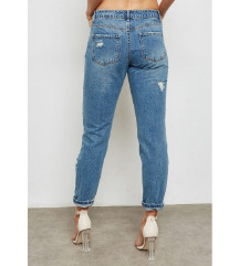 MISSGUIDED/High Waist Boyfriend Jeans