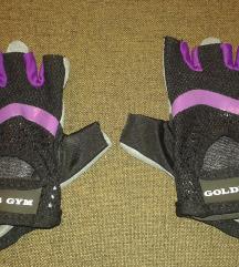 Gold's gym súlyemelő kesztyű / weight glove