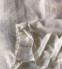 Fehér paperbag nadrág