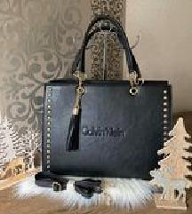 Calvin Klein fekete pakolós táska. Új.