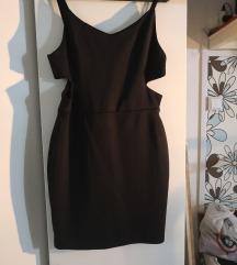 Fishbone alkalmi fekete ruha