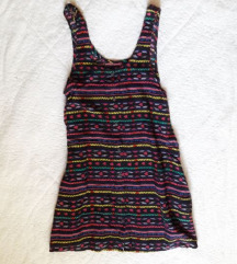 🎀 FB Sister színes ruha S-es 🎀