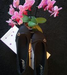 Új fekete balerina cipő 38-as