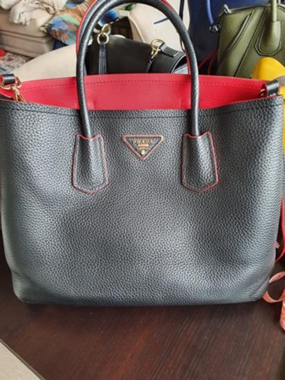 Eladó fekete PRADA prémium replika táska
