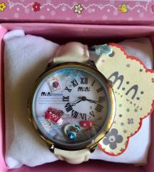 3Ds kézzel készült óra,Seiko belsővel,bőrszíjjal