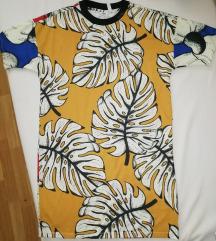 Adidas Originals trópusi mintás póló ruha