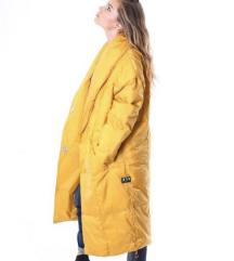 Retro Jeans kabát sárga XS