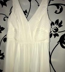 menyasszonyi szalagavató ruha maxi hófehér