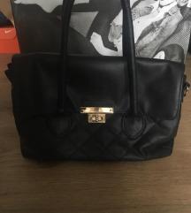 használt fekete táska