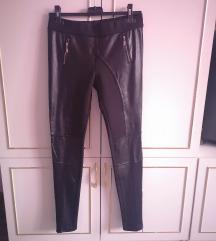 Bőrhatású nadrág/leggings
