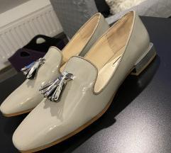 Zara ezüst loafer