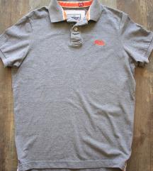 Újszerű ' Superdry ' férfi pique póló, XL-es