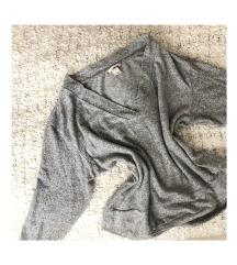 LEÁRAZVA! H&M szürke oversized pulóver
