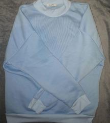Téli meleg babakék pulóver