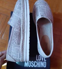 Új eredeti Love Moschino espadrilles