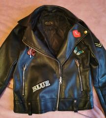 Egyedi műbőr kabát S 💗