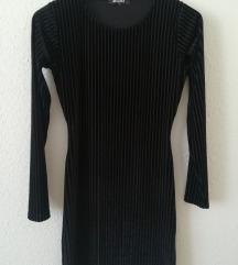 Új Missguided bársony ruha 36/S
