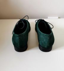 Vagabond bottle green velúrbőr cipő 36
