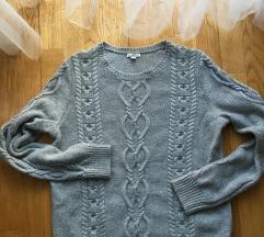 GAP L-es szürke pulcsi