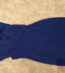 Forever 21 combközépig érő alkalmi kék ruha