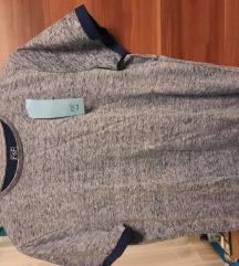 Eladó F&F-es férfi szürke póló.