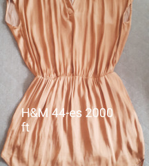 H&M bronz ruha 44-es
