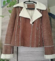 Mű bárányszőr kabát