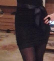 Fekete alkalmi csipke ruha S/M